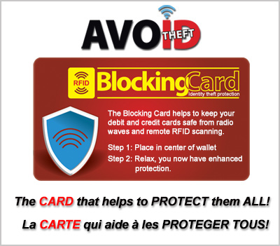 ON SALE! RFID Blocking Card
